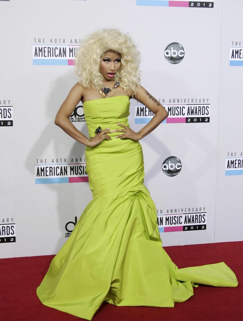 Rapper Nicki Minaj. Foto: NTBScanpix