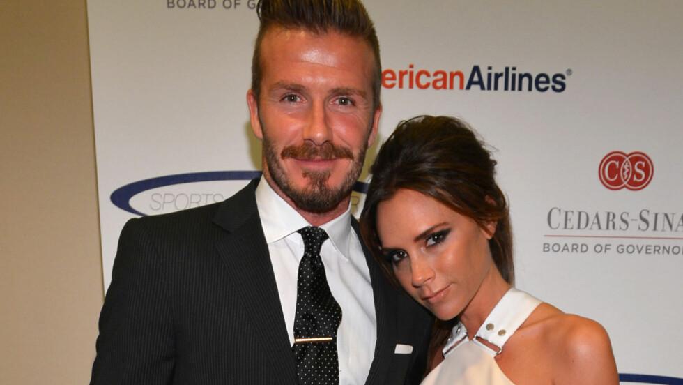 GIR SEG: David Beckham og kona Victoria har funnet seg godt til rette i USA. Nå blir det spennende å se hva slags planer de har videre for Davids karriere. Foto: All Over Press