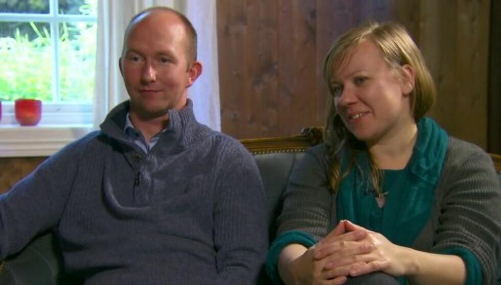 FORANDRET SEG: Tor Magne Egge sier til Seoghør.no at han har blitt flinkere til å prate om følelser etter at han ble med i «Jakten på kjærligheten». Her er han sammen med sin frier og reisevenninne Ann Julie Bjørgulfson. Foto: TV 2