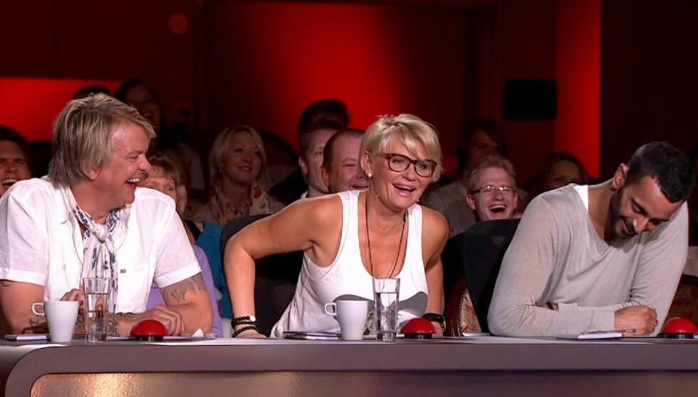 DOMMER: Alex Rosén er for tiden å se som dommer i Norske talenter.  Foto: TV 2