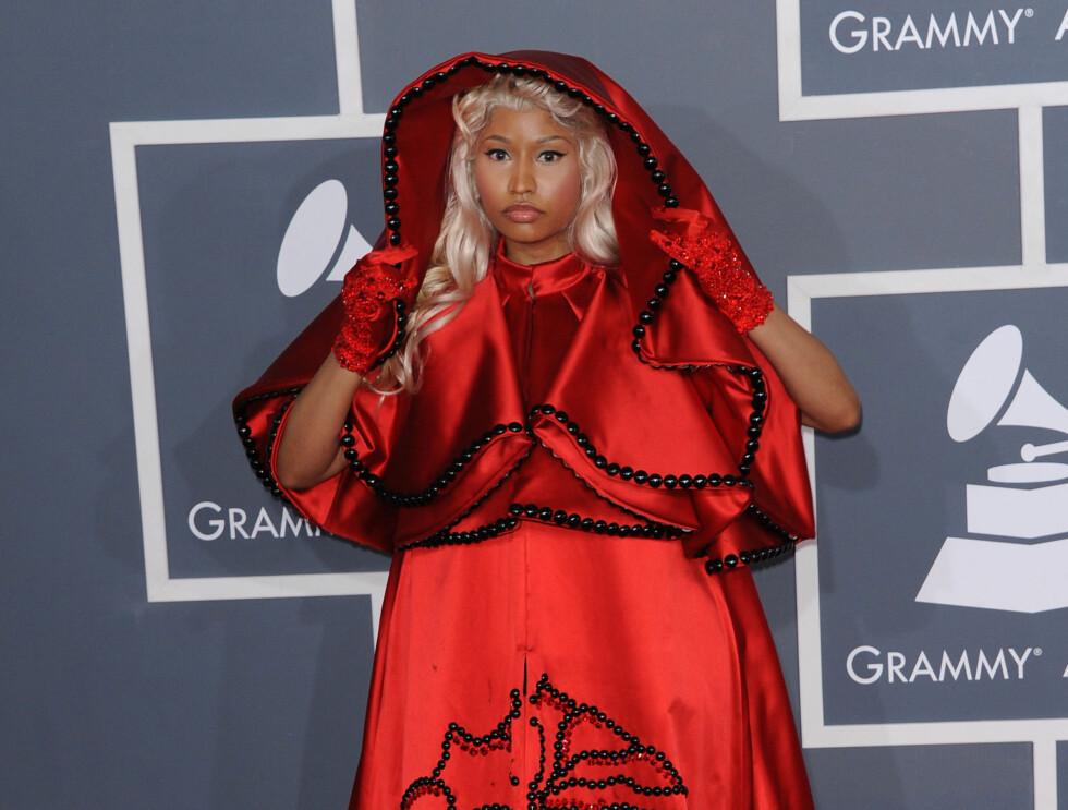 NICKI MINAJ @ the 54th annual Grammy awards held @ the Nokia.February 12, 2012    Photo: Chris DELMAS / VISUAL Press Agency/Visual Press Agency Code: 4050/ COPYRIGHT STELLA PICTURES Foto: Stella Pictures