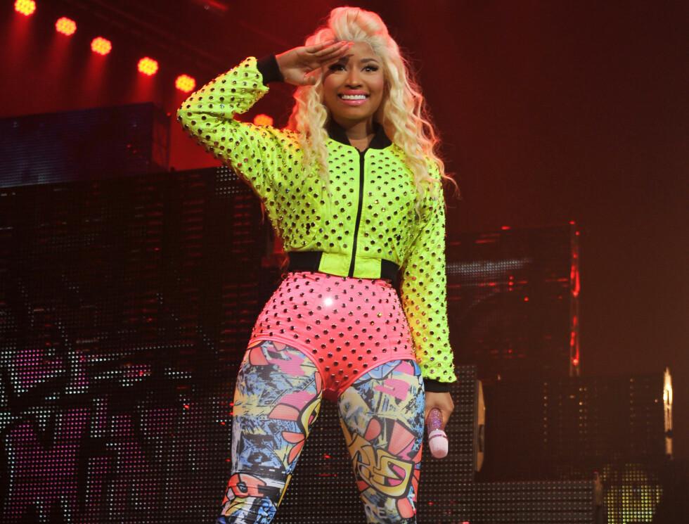 Paris 2012-07-06  Nicki Minaj live consert in Paris.  Photo: Besgimage Code: 4115  COPYRIGHT FAMEFLYNET SWEDEN Foto: FAMEFLYNET SWEDEN