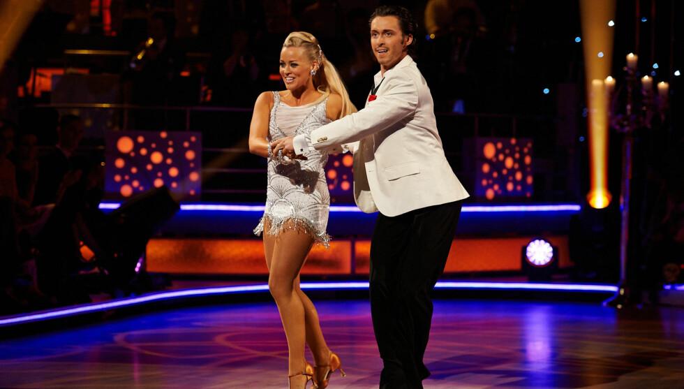 VINNER?: Førstkommende lørdag avgjøres det om Egor Filipenko og Hanne Sørvaag danser seg til topps. Foto: Stella Pictures