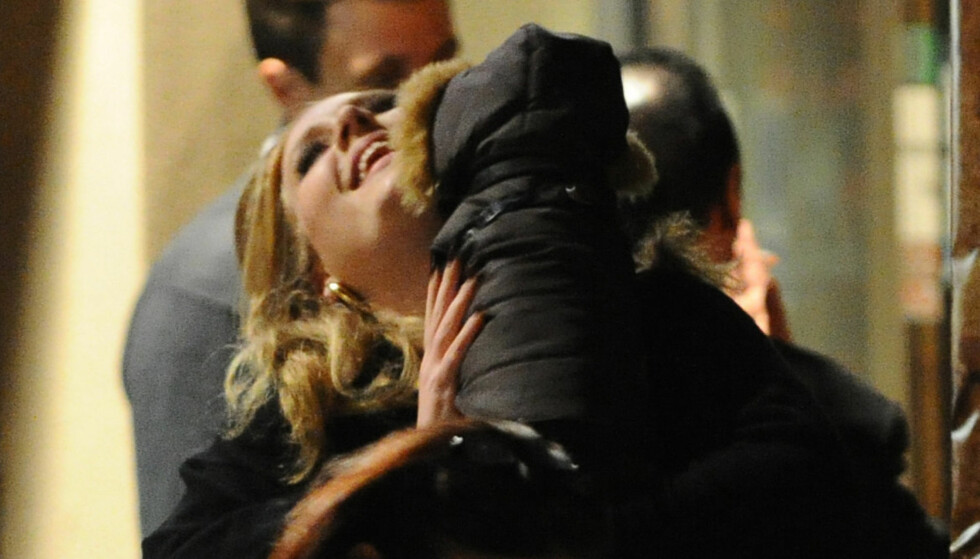 LEI VEKT-FOKUSET: Adele sier hun ikke har noen planer om å slanke seg. Foto: Stella Pictures