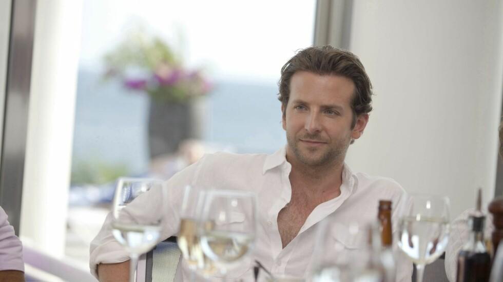 AVHOLDSMANN: Bradley Cooper har innrømmet at alkoholen holdt på å ta livet av ham. Nå har han ikke drukket på åtte år. Foto: Stella Pictures