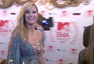 Se stjernene ankomme MTV-festen