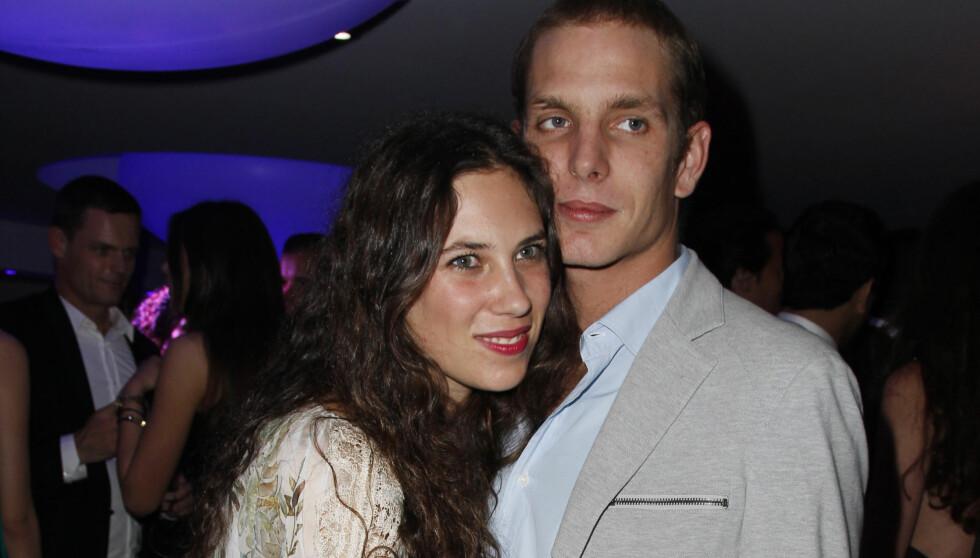 BLIR FORELDRE: Andrea Casiraghi og Tatiana Santo Domingo venter barn i februar. Foto: Stella Pictures