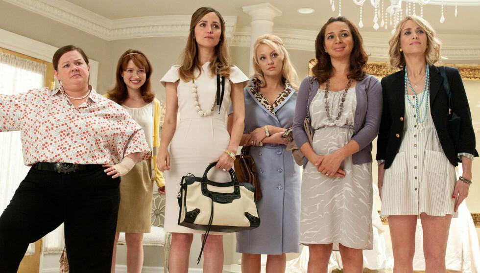 SUKSESS: Melissa McCarthy ble verdensskjent for sin rolle som Megan i «Bridesmaids» fra 2011. Foto: Stella Pictures