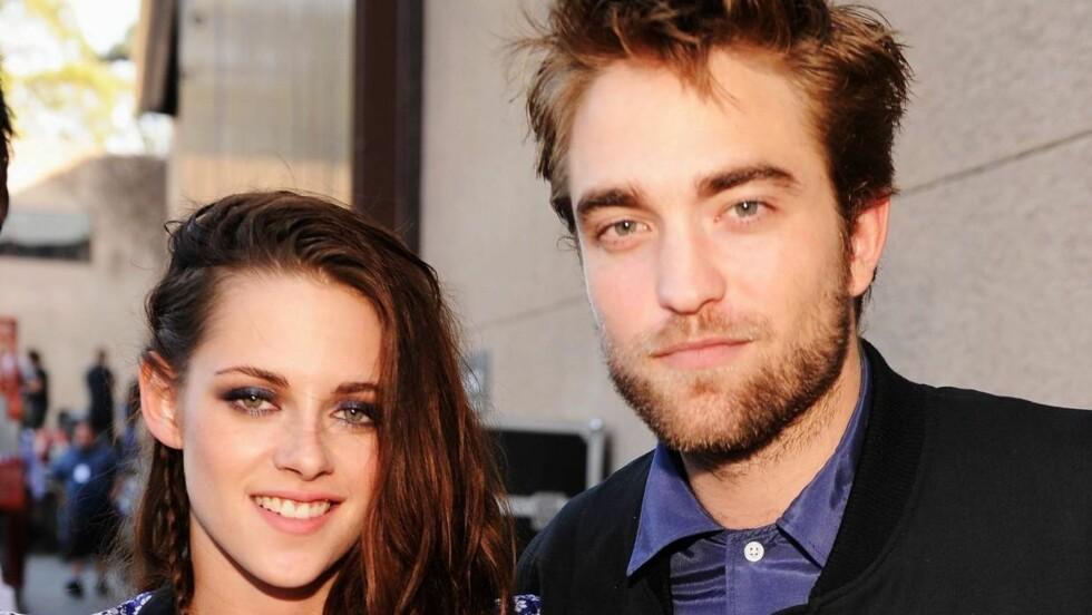 ANGRET BITTERT: Robert Pattinson tilgav sidespranget til kjæresten. Foto: All Over Press