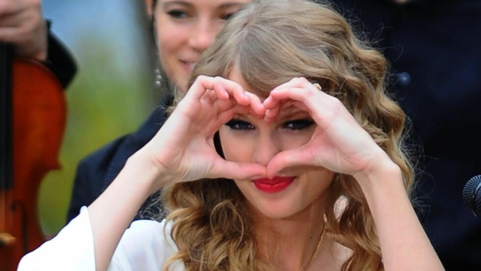 FORTVILET OVER GUTTER: Taylor Swift har blitt såret mange ganger i kjærligheten. Foto: All Over Press