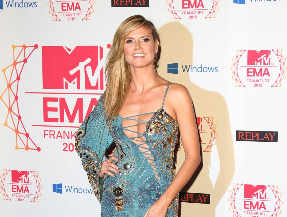 MTV EMA: Heidi Klum Foto: All Over Press