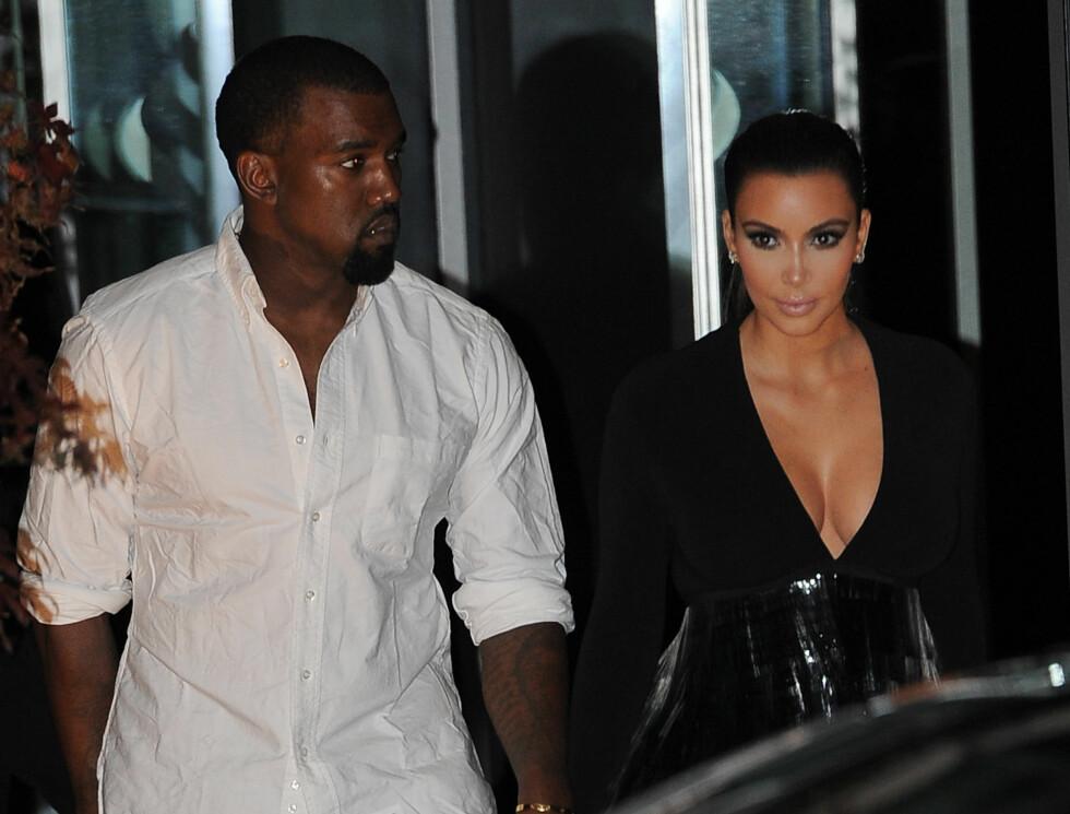 MTV EMA: Kanye West og Kim Kardashian Foto: All Over Press