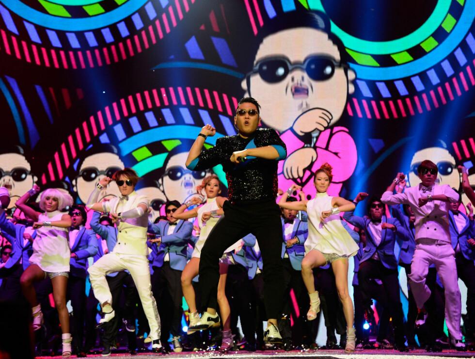 MTV EMA: PSY og Gangnam Style Foto: All Over Press
