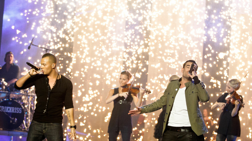 Erik og Kriss vant «Best Norwegian act»
