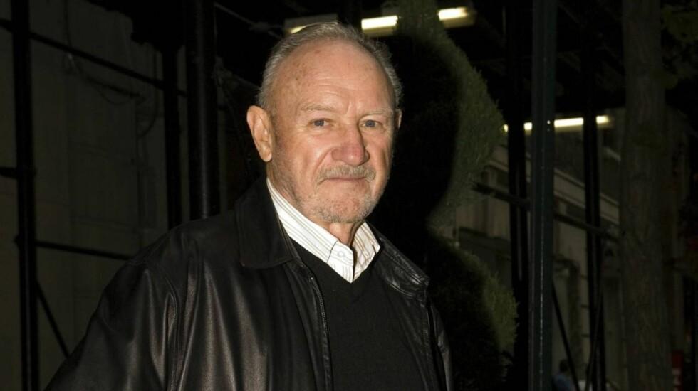 SELVFORSVAR: Politiet mente det var selvforsvar da Gene Hackman slo en uteligger i Santa Fe, men mannen mener skuespilleren slo ham mellom 10 og 12 ganger.  Foto: All Over Press