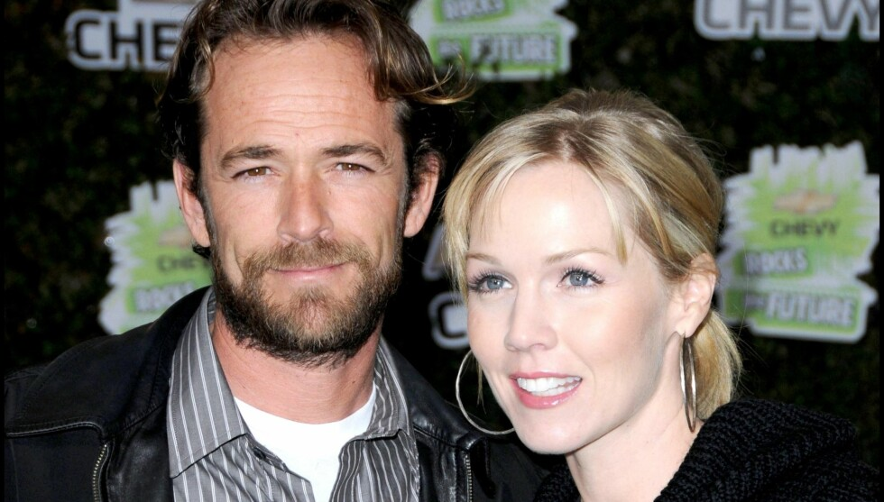 «BAD BOYS»: Jennie Garth ønsker seg en «bad boy» - ikke ulik 90210-kollega Luke Perrys rollefigur Dylan McKay. Dette bildet er fra 2008. Foto: Stella Pictures