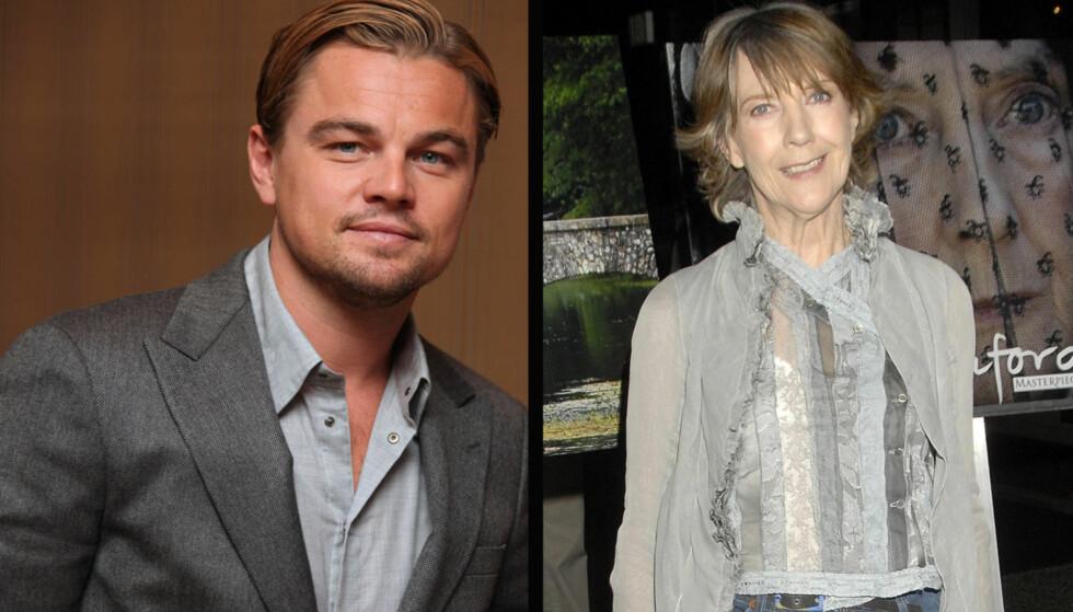 TAKKET NEI TIL DICAPRIO: Dame Eileen Atkins valgte å takke nei til å spille i en het kyssescene med Leonardo DiCaprio i hans nye film.