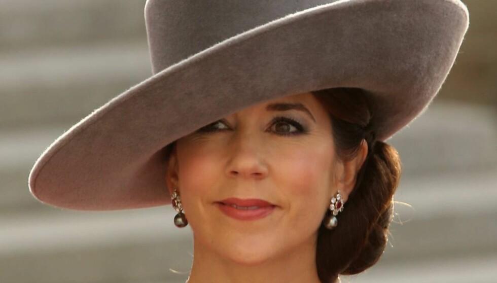 TRIST UKE: Kronprinsesse Mary er i sjokk over dødsfallet, men selvsagt lettet over at politiet nå utelukker selvmord som dødsårsak. Foto: All Over Press