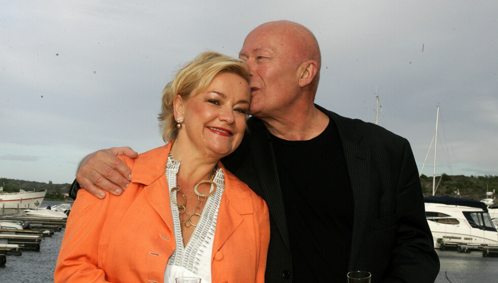 ENDELIG GIFT: Etter over 20 år som kjærester fikk Anette Hoff bryllup i bursdagsgave. Foto: Stella Pictures