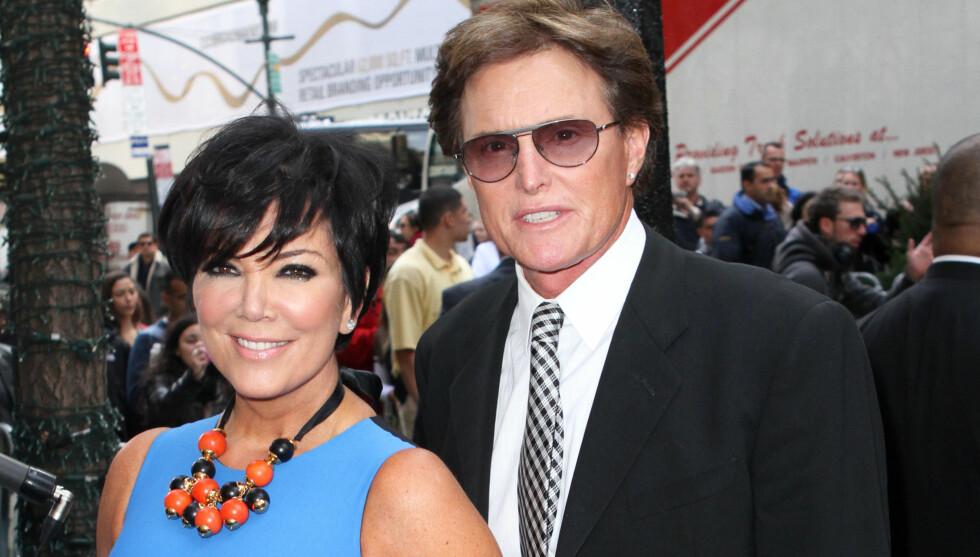 LEI AV KONA: Bruce Jenner er lei av at kona Kris behandler han som en dritt. Det melder National Enquirer. Foto: All Over Press