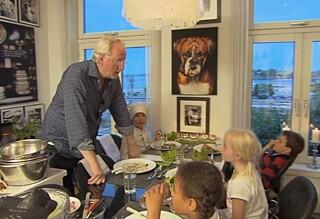 Hellstrøm serverte barna middag ved midnatt