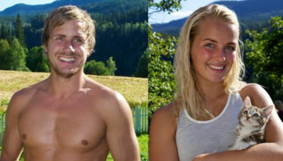 FORELSKA: Selv om Ingvild Skare Thygesen og Endre Aabrekk ikke kaller hverandre kjærester enda, er det ingen tvil om at de to har sterke følelser for hverandre. Foto: TV 2
