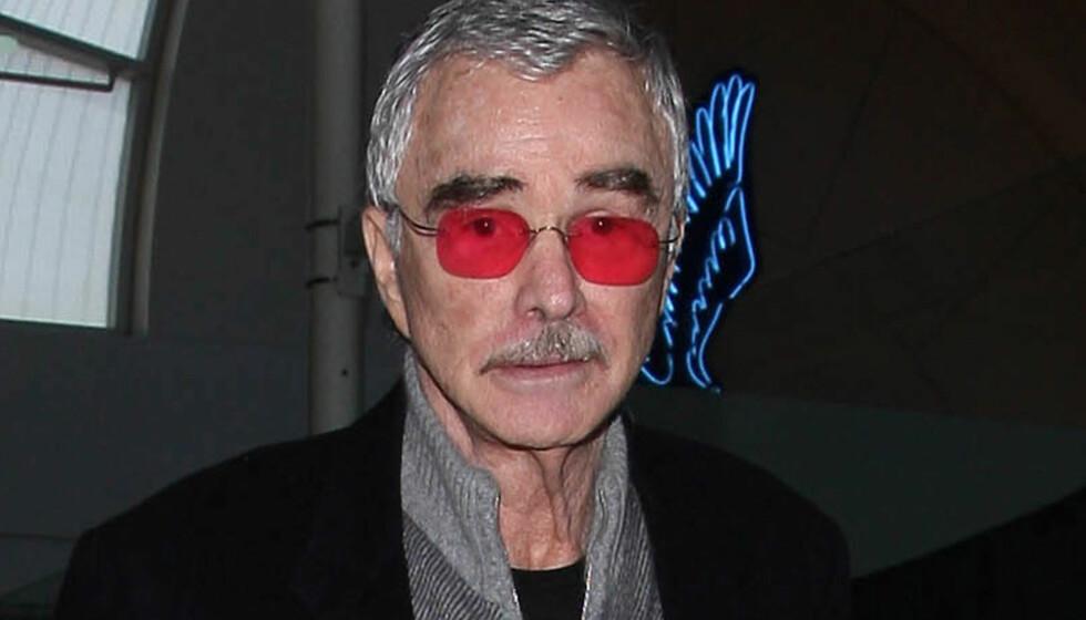 LEGENDE: Burt Reynolds regnes for å være en legende i Hollywood. Foto: Stella Pictures