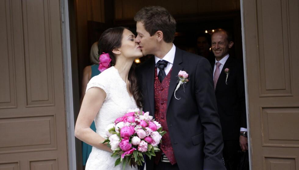 NYGIFTE: Lisa Maria og Knut Arild giftet seg i sommer. Foto: NTB scanpix