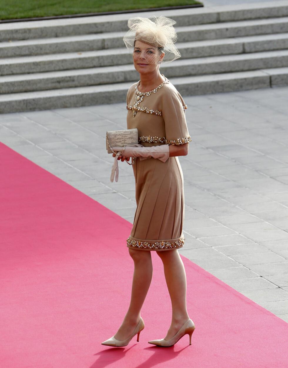 ELEGANT: Prinsesse Caroline av Hannover viste at hun fortsatt er en av Europas mest elegante prinsesser. Foto: Scanpix/Reuters