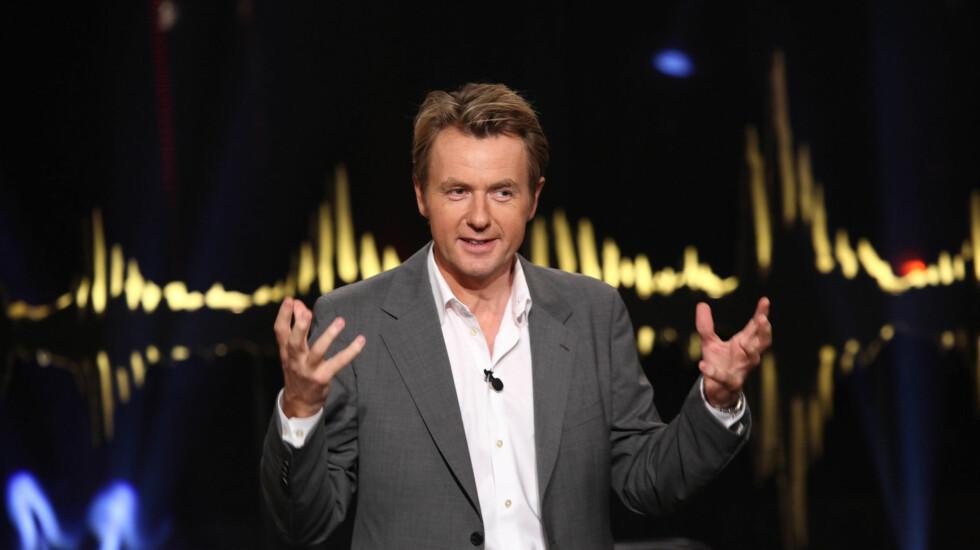 FÅR KRITIKK: Fredrik Skavlan får sterk kritikk for sitt intervju med Camilla Henemark. Foto: Stella Pictures