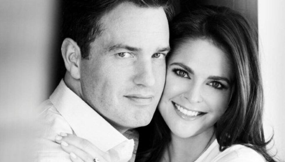 BEKREFTET FORLOVELSEN: Prinsesse Madeleine bekreftet torsdag forlovelsen til Chris O'Neill. Foto: Det svenske hoff