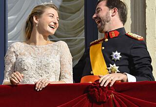 Se høydepunktene fra bryllupet