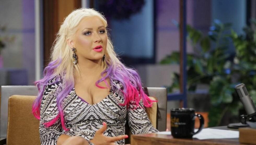 NY KROPP: - Jeg elsker den nye kroppen min. Uansett om folk elsker det eller hater det, så er dette den personen jeg er nå, sier Christina Aguilera. Foto: All Over Press