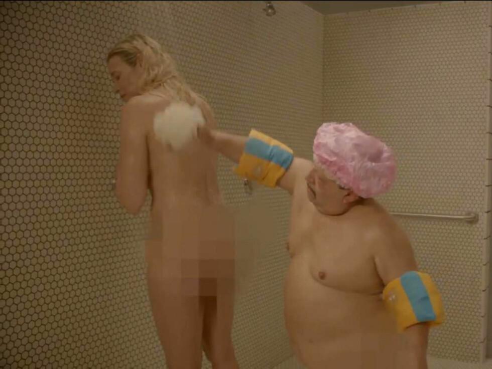 SPLITTER NAKEN: Handler avslørte etter innslaget at hun var den eneste som stilte opp helt naken. Foto: FameFlynet