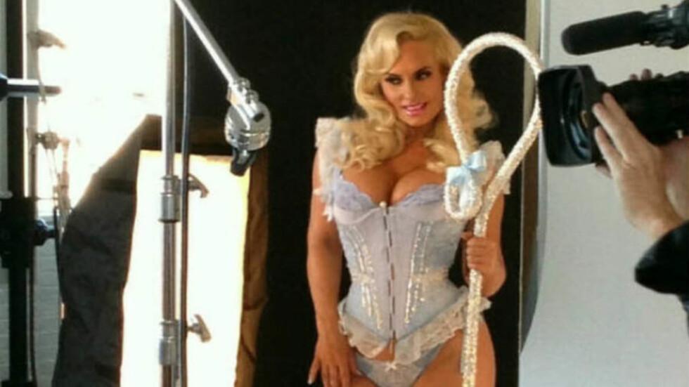KLAR FOR LAS VEGAS: Coco Austin er klar for showet «Peepshow» i Las Vegas. Foto: Stella Pictures