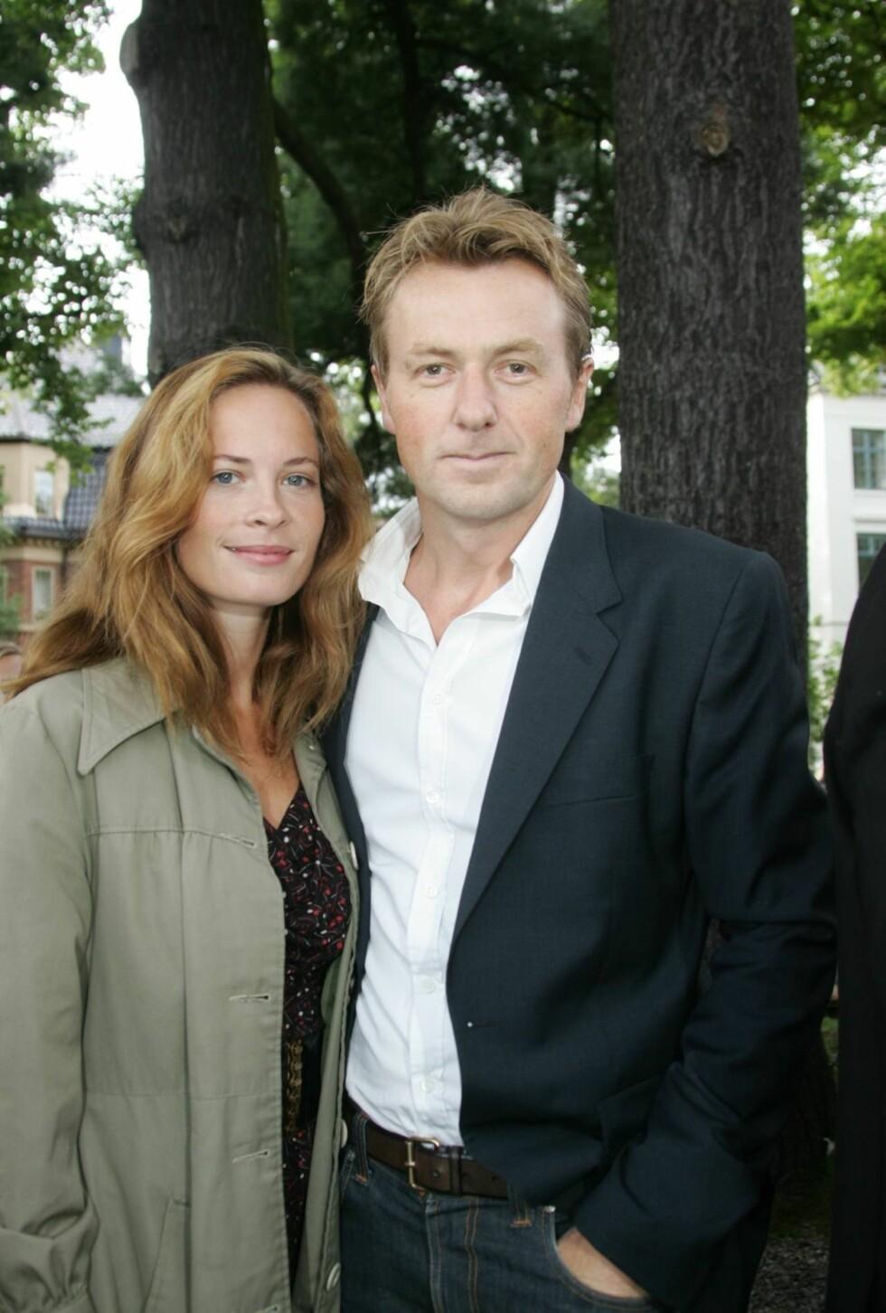KJÆRESTER: Maria Bonnevie har vært sammen med Fredrik Skavlan siden 2006. Foto: STELLA PICTURES