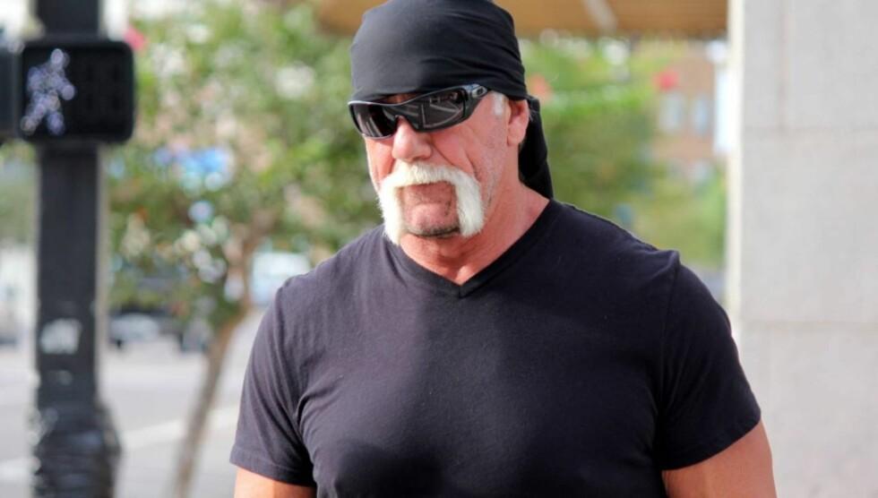 UTSATT FOR VIDEOLEKKASJE: TV-stjernen Hulk Hogan er rasende etter at hans hete natt med bestevennens kone ble filmet og lagt ut på nettet. Foto: All Over Press