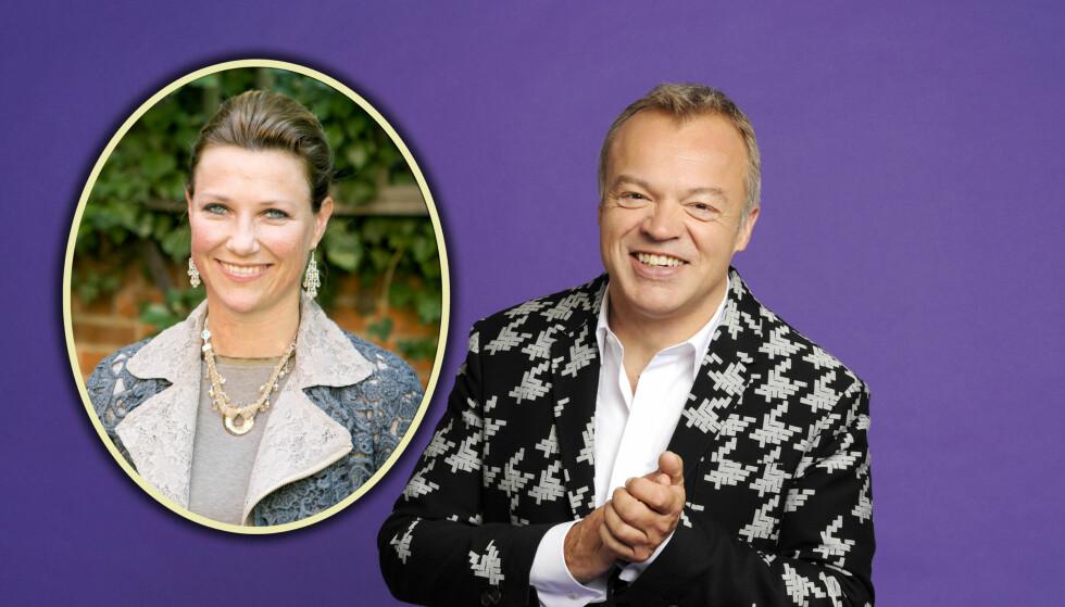 INGEN MÄRTHA-PLANER: - Nei, jeg har ikke noen planer om å be henne, sier Graham Norton til Seoghør.no. Foto: BBC/Scanpix