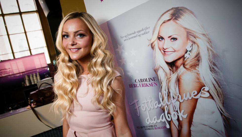 TJENTE MINDRE: Caroline Berg Eriksen hadde mindre inntekter i 2011 enn året før. Foto: Stella Pictures