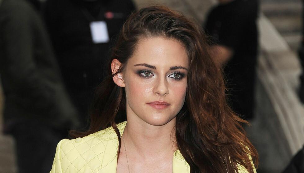 SJELDEN GLAD: Kristen Stewart forteller hun er ulykkelig. Foto: All Over Press