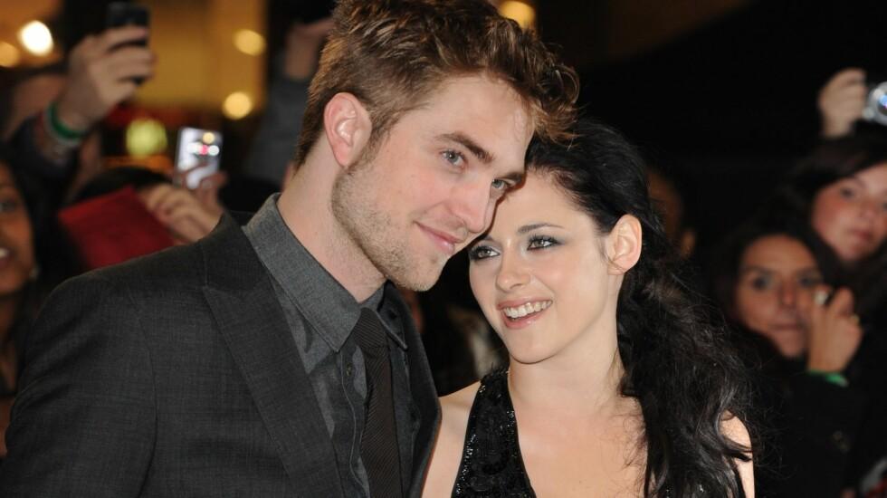 MÅ VENTE PÅ FILMEN: Slik får ikke fansen se Robert og Kristen under promoteringen av «Breaking Dawn Part 2».