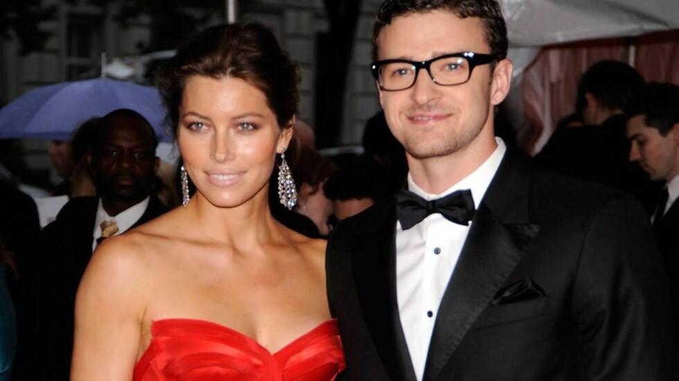 KOSTBART BRYLLUP: Jessica Biel og Justin Timberlake inviterte venner og familie til Italia der de feiret kjærligheten i en uke før bryllupet sto fredag kveld. Prislappen ble på 39 millioner kroner.  Foto: All Over Press