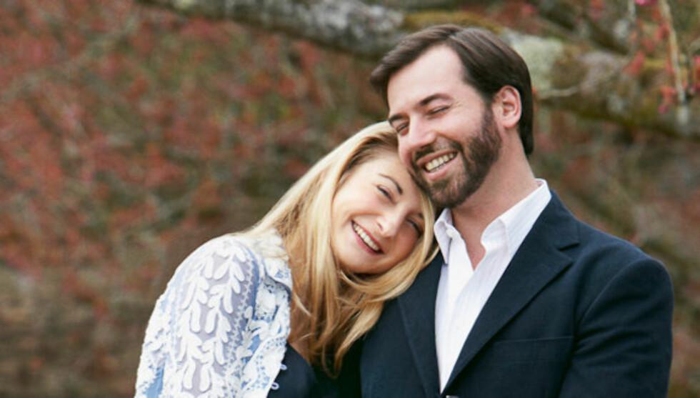 ROJALT BRYLLUP: Kronprins Guillaume og grevinne Stephanie de Lannoy gifter seg den 19. og 20. oktober i Luxembourg. Foto: Kongehuset