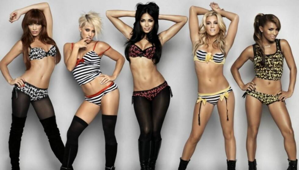 MIDTPUNKT: Nicole Scherzinger sier hun sang 95 prosent av alt som ble sunget i jentegruppa.