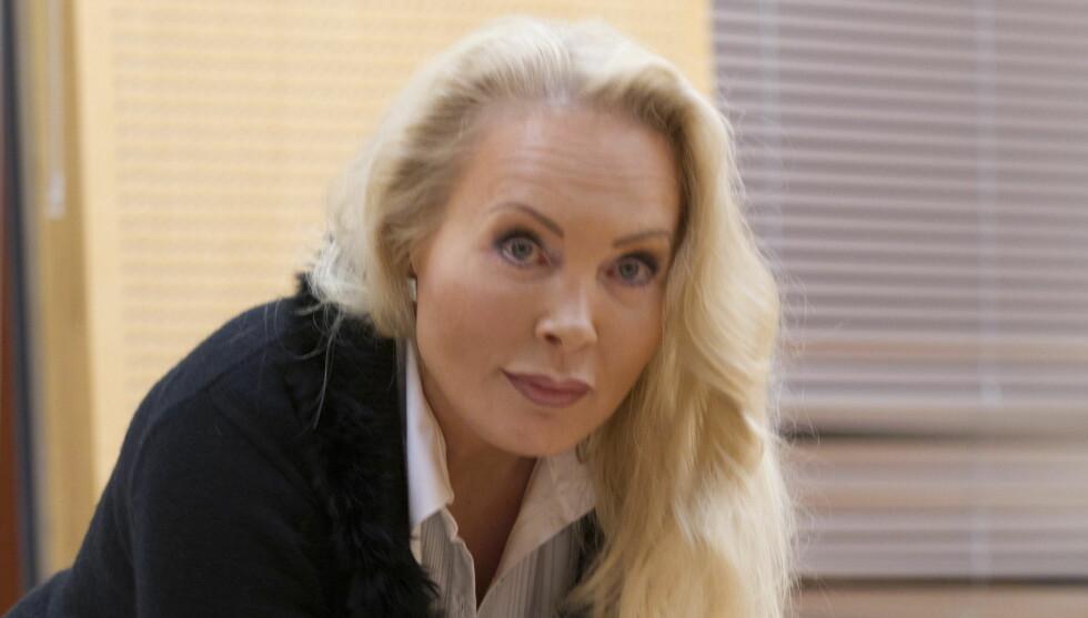 REAGERER STERKT: Mona Høiness reagerer etter at Hegnar brukte overskriften «Eldreraner» i kombinasjon med et bilde av Høiness i en leder i Kapital. Foto: Scanpix