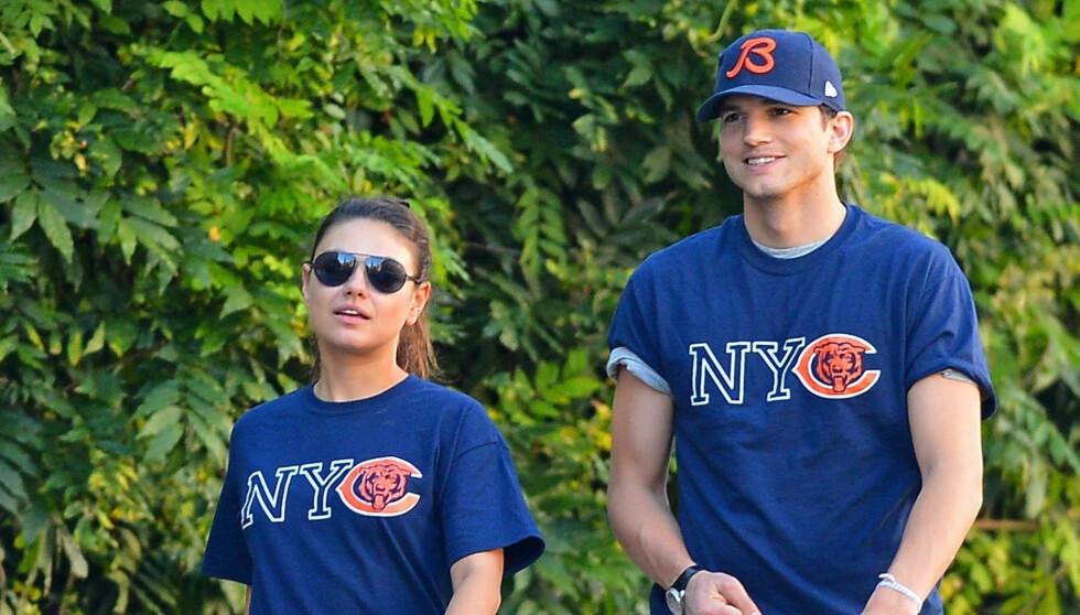 HOTTE: Ashton Kutcher og Mila Kunis er Hollywoods heiteste par for tiden - på alle måter.  Foto: Stella Pictures