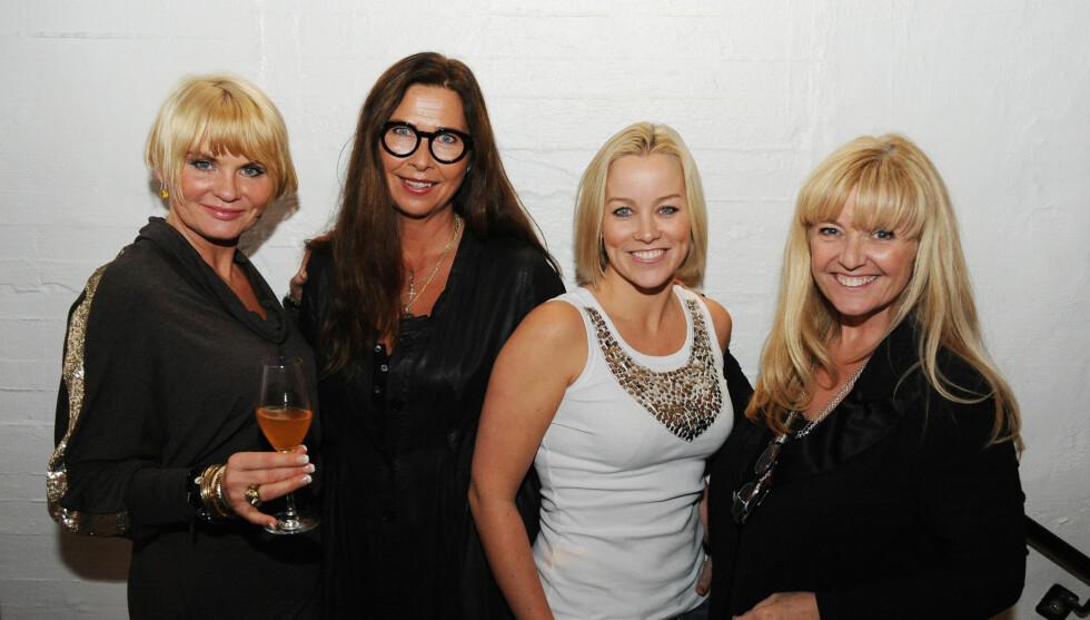 KJENDIS-VENNINNER: Lanseringsfest for boka«Beautyfood» med Mia Gundersen (f.v.), Gro-Helen, Hanne Sørvaag og Hanne Krogh tidligere i år. Foto: Stella Pictures