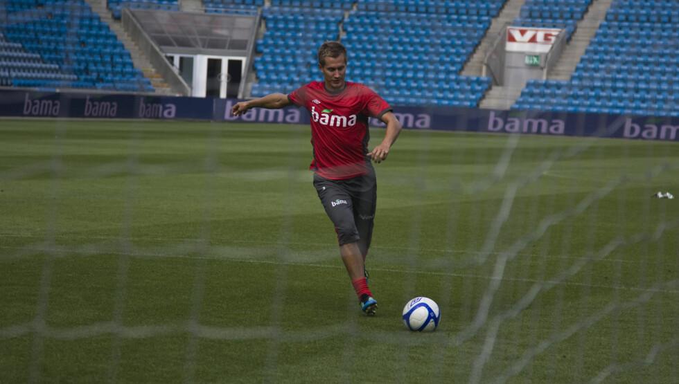 NYFORELSKET: Morten Gamst Pedersen ble vraket på landslaget, men fortviler ikke av den grunn. Nå nyter han livet sammen med sin nye kjæreste. Foto: Stella Pictures