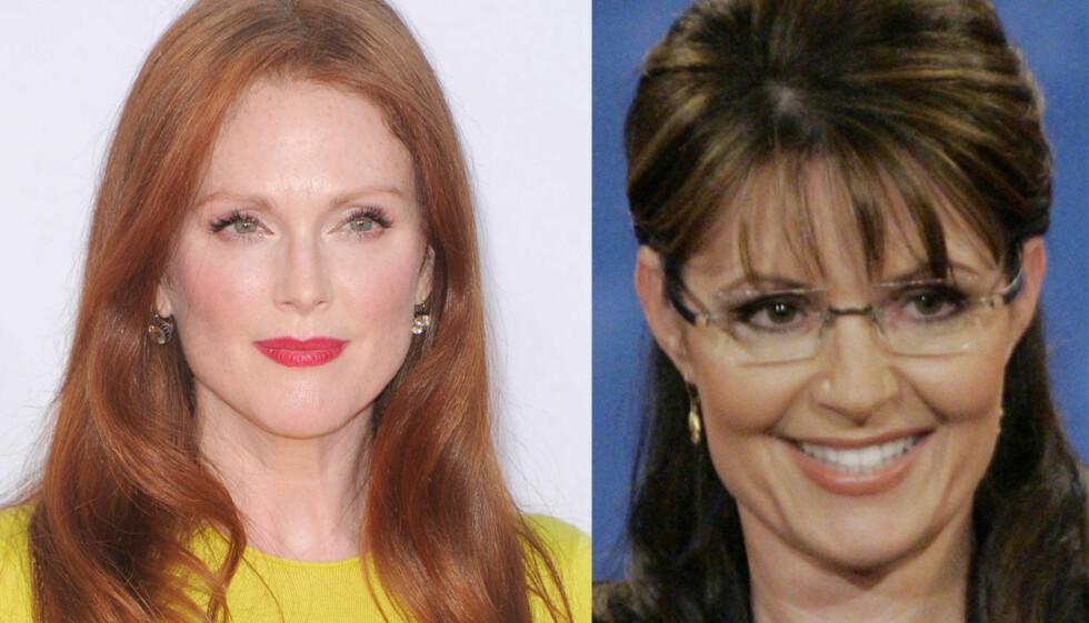 HOT, HOTTERE: Julianne Moore portretterer Sarah Palin i filmen «Game Change» - det likte Palins datter Bristol dårlig. Foto: Stella Pictures