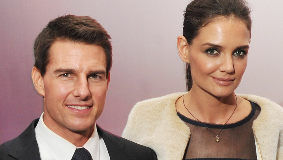 SKJULTE BRUDDET: Forholdet mellom Tom Cruise og Katie Holmes var over et halvt år før Katie søkte om skilsmisse.  Foto: All Over Press
